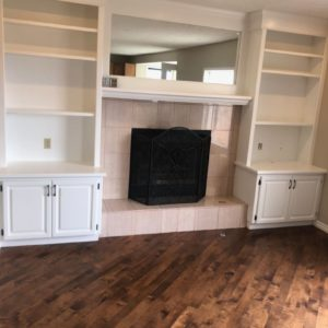 Built-in Cabinets & Bookshelves - After