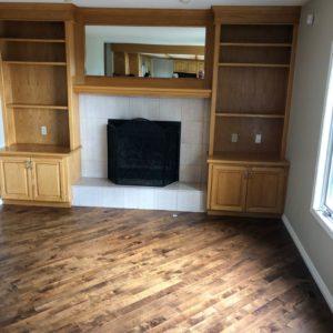 Built-in Cabinets & Bookshelves - Before