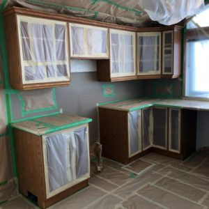 Kitchen Cabinet Painting Calgary - A Burst Of Colour