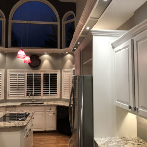 Kitchen Cabinets Painting - White Pearl Finish