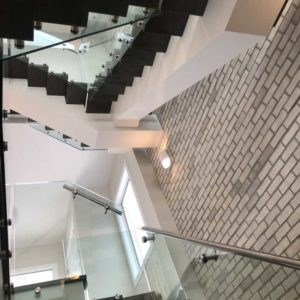 Stairs Refinishing - A Burst Of Colour Inc.