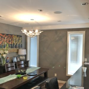 Dining Room Walls, Ceiling & Trim - Westmount